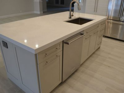 Island Drawers And Sink