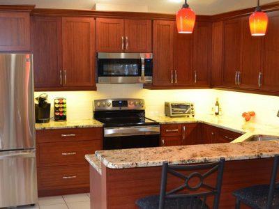 Kitchen Updated Cabinets